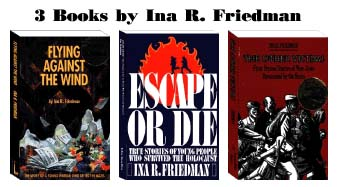 Three books by Ina Friedman - click on book images
