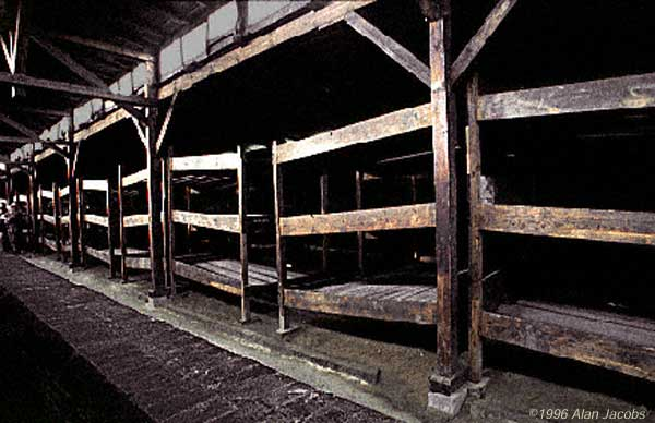 Barrack in Auschwitz II, Birkenau