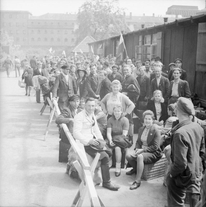 Displaced Persons Camp Germany