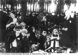 Birkenau march