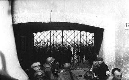 Gate of the Dachau Concentration Camp