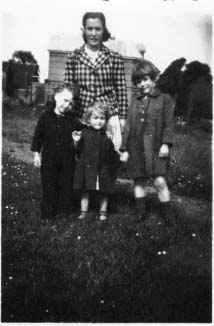Richard Kool's mother, Hester Wass-Kool, with the van Westeringchildren