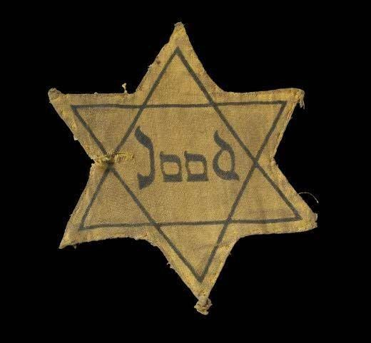 Jood yellow star used in Holland.