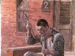 Jan Komski painting