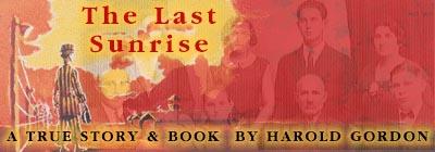 The Last Sunrise Cover Art