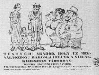 Hungarian anti-semitic propaganda became increasingly widespread.