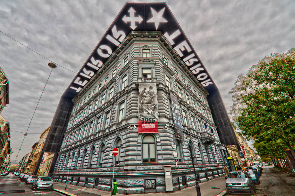 House of Terror Museum Budapest Hungary