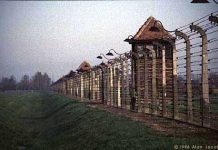 Birkenau concentration camp entrance