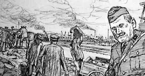Jan Komski Holocaust survivor art