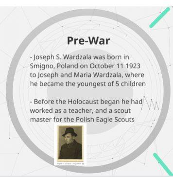 Joseph Wardzala history