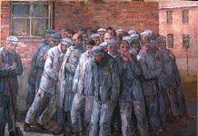 Jan Komski painting holocaust survivor