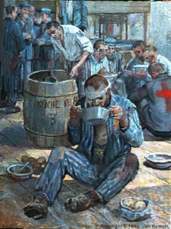 painting by Jan Komski